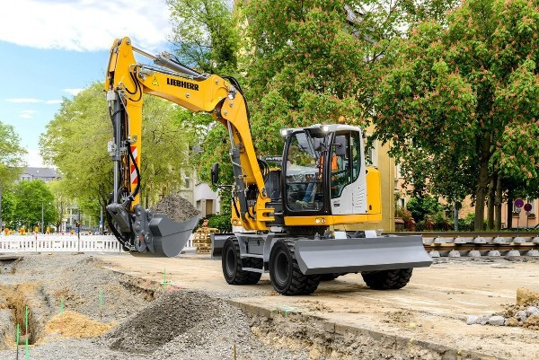 A 918 Compact Litronic Liebherr